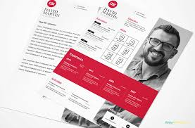 Indesign Modern Resume Clean Simplistic Psd Indesign Ms Word Resume Cover