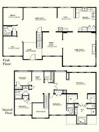 regarding 4 bedroom two y house plans simple 2 story home