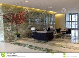 Modern Luxury Hotel Lobby Furniture Royalty Free Stock