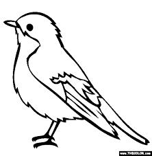 Top 20 bird coloring pages for preschoolers: Bird Online Coloring Pages Page 1 Bird Coloring Pages Bird Outline Bird Drawings