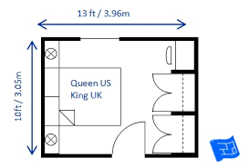 Superior Small Bedroom Design Queen 10 X 13ft ...