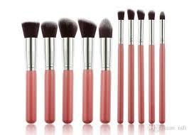 2016 kabuki makeup brushes professional cosmetic brush kit nylon hair wood handle hot item with 5 23 piece on rafi s dhgate