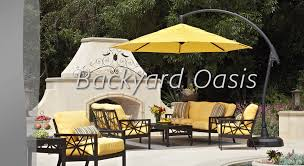 yellow outdoor furniture. Treasure Garden Yellow Outdoor Furniture N