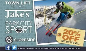 Jans Sport Park City Coupons And Discounts Park City Sport Ski Snowboard