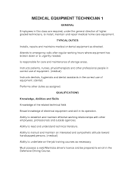 Biomedical Repair Sample Resume Collection Of Solutions Biomedical Equipment Technician Resume 6