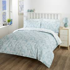 vantona paisley duvet cover set teal superking to enlarge