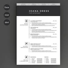 Free Resume Template In Photoshop Psd Illustrator Ai And For