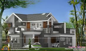 modern sloped roof house plans