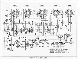 Radio circuit diagram 1955 59 chevrolet passenger cars chevy wiring