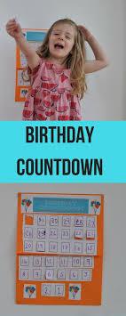 Making A Birthday Countdown Calendar Birthday Countdown