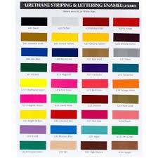 Hok Paint Color Chart