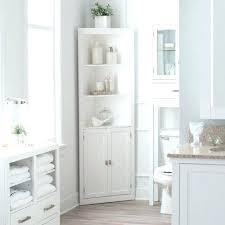 linen closet in bathroom. Corner Linen Cabinet For Bathroom Closet Tower Bath Storage Organizer In