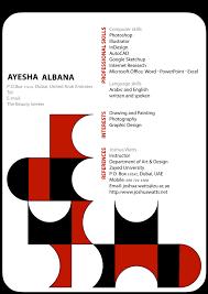 Interior Designer Sample Resume CV Ayesha Albana Interior Designer 47