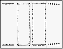 Bookmark Template Word Bookmark Template To Print Activity Shelter