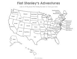Flat Stanley Printable Flat Stella Flat Stanley Printable Activities Fun With Mama