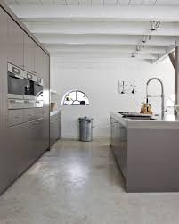 polished concrete floor in house. Poured Concrete Flooring. Image From Kitchenbuilding.com Polished Floor In House
