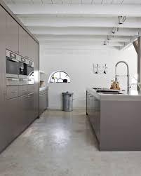 dark polished concrete floor. Poured Concrete Flooring. Image From Kitchenbuilding.com Dark Polished Floor S