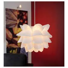 top 50 charming knappa pendant lamp white flower light fixture ikea art gives soft mood industrial chandelier lighting flush mount modern rustic delicate