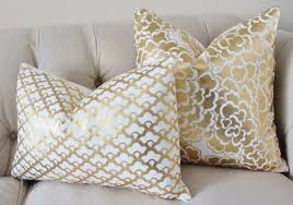 <b>Gold</b> Metalic Pillow - <b>Designer Gold</b> - Caitlin Wilson - <b>Gold</b> ...