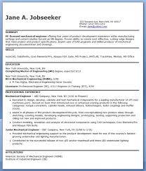 Licensed Mechanical Engineer Sample Resume 19 Mechanical Engineering Resume  Sample PDF Experienced Creative .