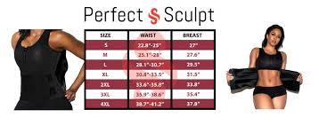 Jsculpt Fitness Size Chart The Perfect Sculpt Sweat Vest