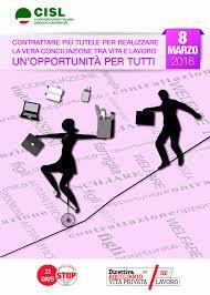 8 MARZO 2018 - Giornata internazionale delle Donne - FIT-CISL Calabria