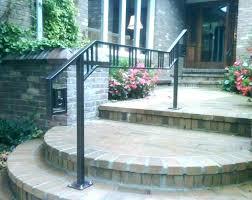 exterior metal handrails for steps hand railings for steps railing outdoor stair railings outdoor wood stair railings for steps deck stairs design ideas