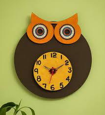 multicolour pine wood owl face