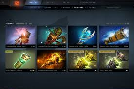 how to get dota 2 items
