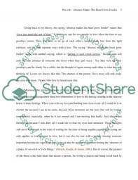 essay absence makes the heart grow fonder example topics and   text preview