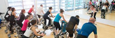 gym and fitness cles spin cl at the centre for sport