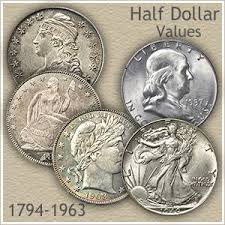 Half Dollar Value On The Move