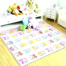 cat toy puzzle rug soft tiles play mat for cats kids numbers 9 foam