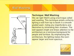 Wall washing lighting False Wall Wall Washing Specialty Lighting Industries Lighting Design 101 Wall Grazing And Washing
