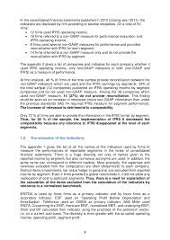 rapport de la sfaf sur les ifrs description of indicators used by the firms 6