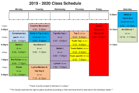 Schedule Balletandthatjazz Com