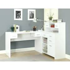 white gray solid wood office. White Wood Computer Desk Light Corner Office Ideas  Using Wooden . Gray Solid F