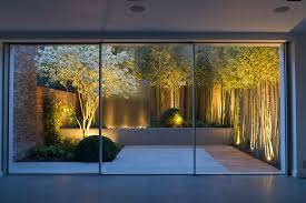 garden lighting ideas. Garden Lighting Ideas Landscape Contemporary With Water Feature At Night
