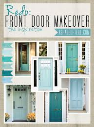 Redo: Front Door {Inspiration} | Aqua blue, Front doors and Teal