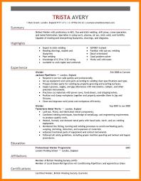 Welder Resume 100 Resume For Welding Letter Setup Welding Trade Resume Template 76