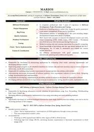 Resume Java Developer Resume Template Sample And Writing