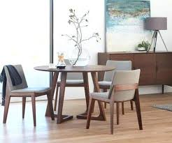 scandinavian dining room cress dining table round walnut designs scandinavian dining room table and chairs