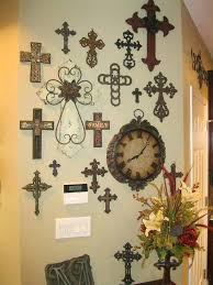wall crosses decor trendy ideas cross pin by on for the home