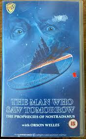The Man Who Saw Tomorrow VHS Prophecies of Nostradamus Film Movie Classic  Rare
