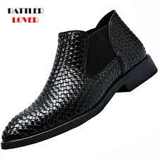 top 10 most popular <b>men</b> shoes leather <b>autumn</b> business boots slip ...