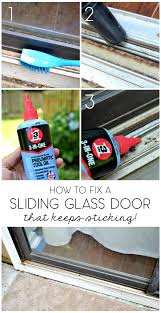 how to fix sliding glass door in five minutes