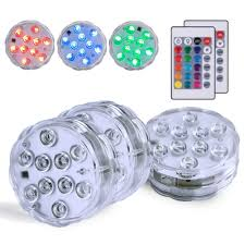 Efx Led Lights Homemory Submersible Led Light 3 Pack Efx Led Lights Waterproof With Remote Waterproof Rgb Multicolor Underwater Accent Light For Vase Pool Hot