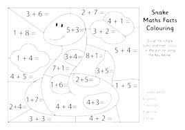 Coloring Math Sheets Division Worksheet Math Coloring Worksheets 5th