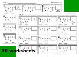 50 worksheets for teaching students to add three digit math problems ...