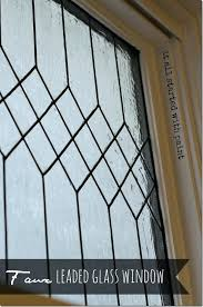 faux leaded glass faux leaded glass window faux stained glass kits michaels